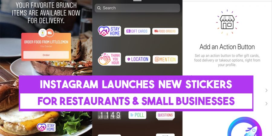 How to Use Instagram's New Food Delivery & Gift Card Stickers
